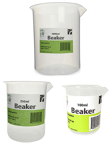 PLASTIC BEAKER, 1000ML