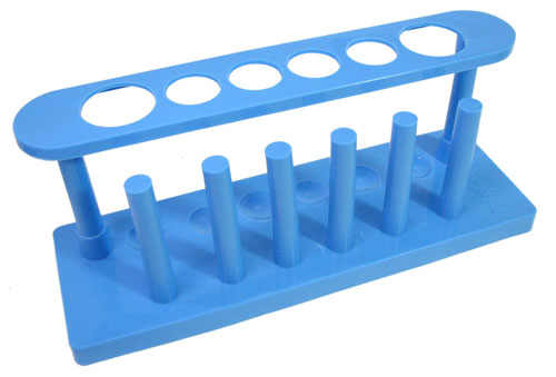 BLUE TEST TUBE RACK