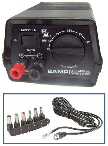 3-12 VDC 2 AMP VARIABLE POWER SUPPLY