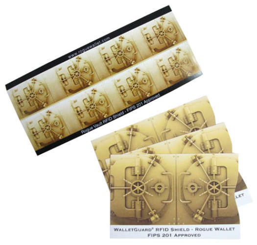 RFID SHIELD CREDIT CARD SLEEVES