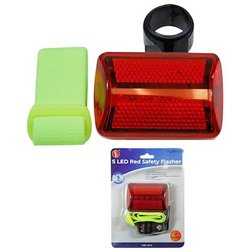 LED FLASHING BICYCLE SAFETY LIGHT