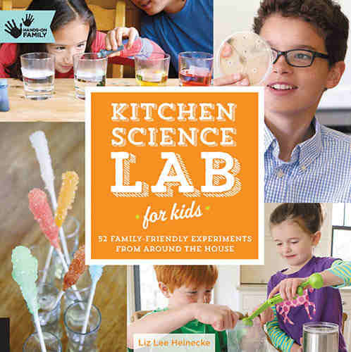 KITCHEN SCIENCE EXPERIMENTS BOOK