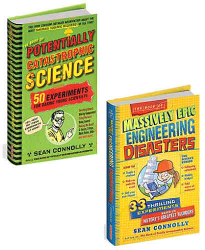 KIDS ENGINEERING DISASTERS BOOK WITH EXPERIMENTS