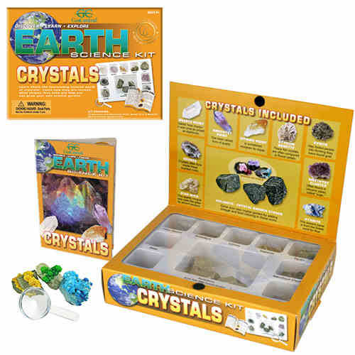 KIT, CRYSTAL, 9 PC. PLUS 3 DOLOMITE TO GROW