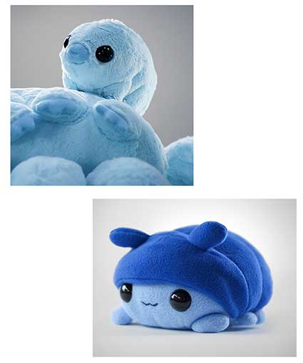 TARDIGRADE PLUSH TOY