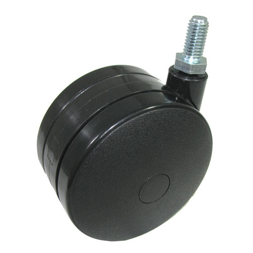 SWIVEL-STEM TWIN WHEEL CASTERS