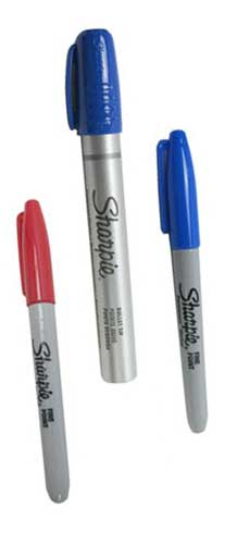 BLACK SHARPIE® FINE POINT MARKER