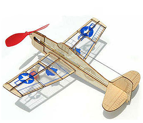 BALSA STUNT FLYER AIRPLANE KIT