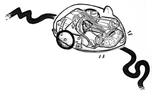 LINE-TRACKING MOUSE