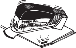 PAPERPRO STAPLER THE ULTIMATE STAPLER