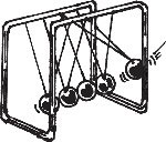 NEWTON'S CRADLE, LARGE