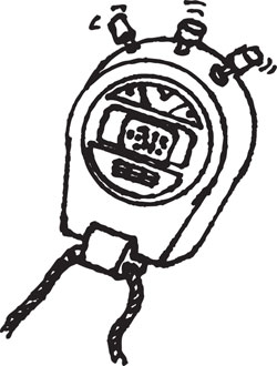 HANDHELD DIGITAL STOPWATCH