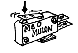NO/NC MULON MICROSWITCH