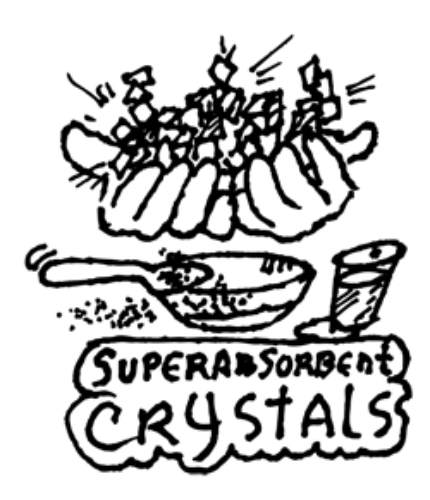 ABSORBING CRYSTALS KIT