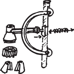 SPRING-LOADED BURETTE CLAMP