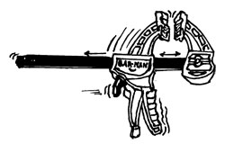 "12"" PISTOL-STYLE BAR CLAMP"