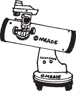 MEADE 82MM TABLE TOP TELESCOPE