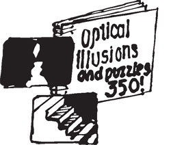OPTICAL ILLUSIONS BOOK