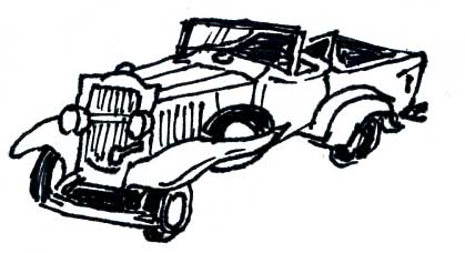 MODEL A FORD PICKUP TRUCK MODEL KIT