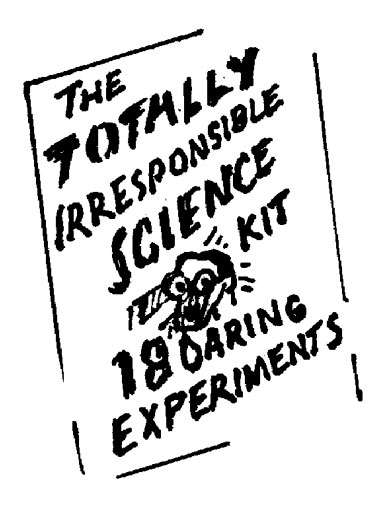 KIDS TOTALLY IRRESPONSIBLE SCIENCE KIT