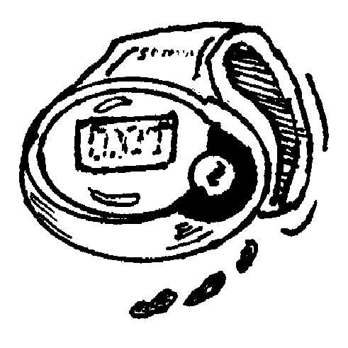 PEDOMETER AND CALORIE COUNTER