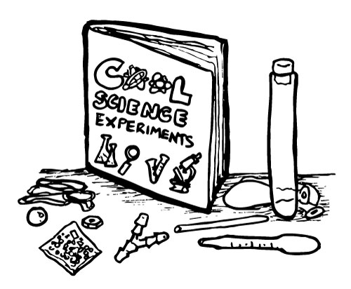 KIDS COOL SCIENCE EXPERIMENT KIT