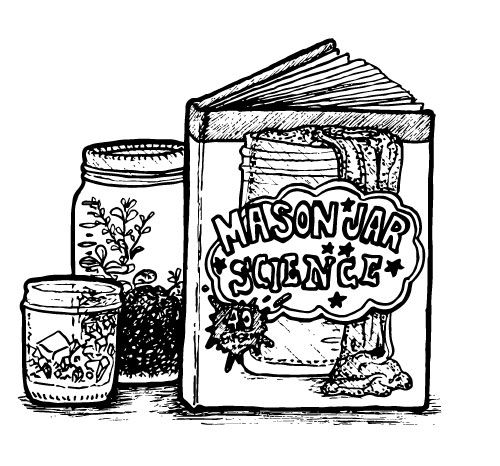 MASON JAR SCIENCE EXPERIMENT BOOK