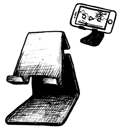 SMART PHONE-TABLET STAND