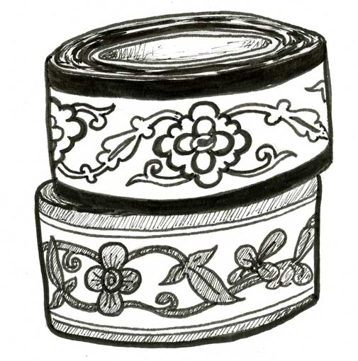 FLOWERY SCANDANAVIAN-DESIGN DUCT TAPE
