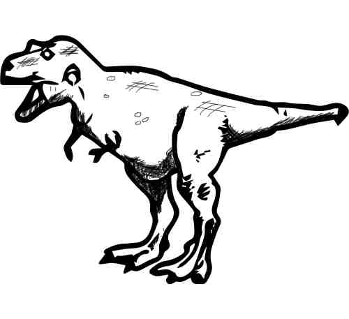 POSABLE T-REX