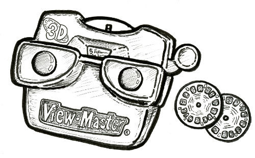 VIEW-MASTER CLASSIC® WITH 3 REELS