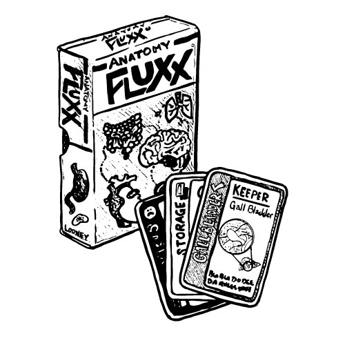 ANATOMICAL FLUXX CARD GAME