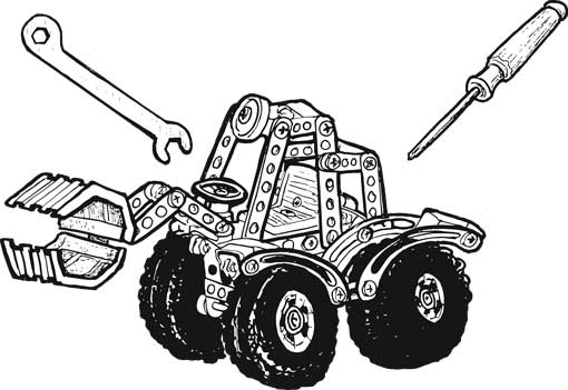 186-PIECE FRONT-LOADER KIT