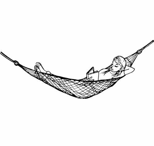 CAMPING HAMMOCK WITH TREE STRAPS
