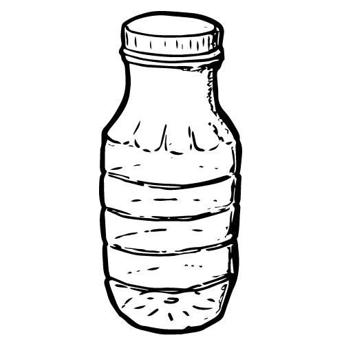 8 OZ CLEAR PLASTIC BOTTLES