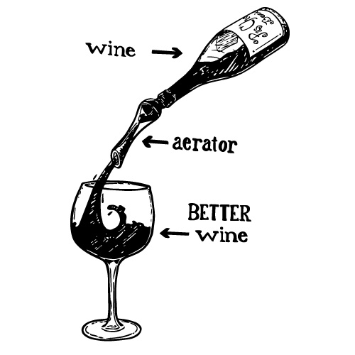 WOODPECKER POURER WINE AERATOR