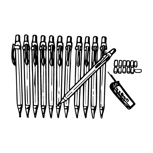 TEK WRITER™ PENCIL SET