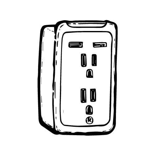 GENERAL ELECTRIC USB/AC CHARGING STATION