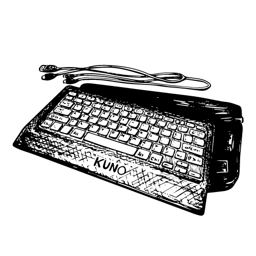 KUNO WIRED USB KEYBOARD