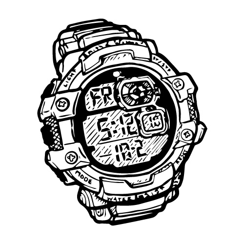 SMITH & WESSON RED TACTICAL WATCH