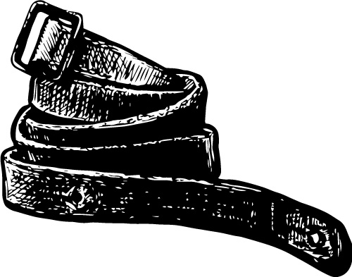 GERMAN LEATHER SLING WITH FRICTION BUCKLE