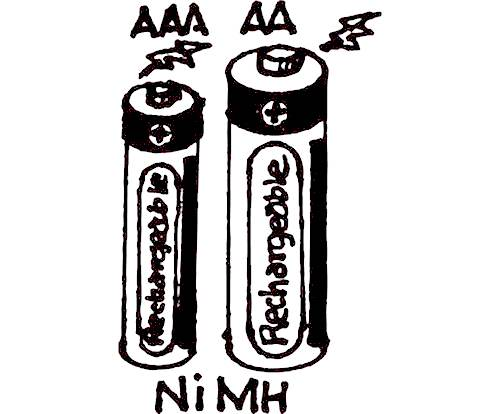 """AA"" NIHM RECHARGEABLE BATTERIES"