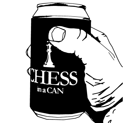 CHESS GAME IN A CAN