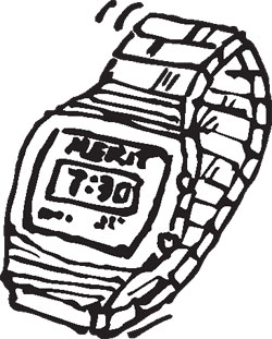 STANDARD CLASSIC DIGITAL WATCH
