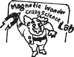 KIT, CRAZY SCIENTIST MAGNETIC WONDER, 14 EXPS.