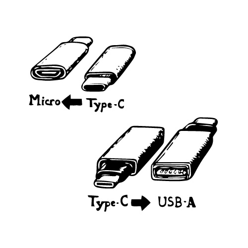 USB3.1 Type-C to USB-A