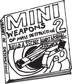 LIBRARY OF DESTRUCTION, VOL 1-3 OF MINI WEAPONS