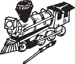 WOODEN STEAM ENGINE MODEL KIT